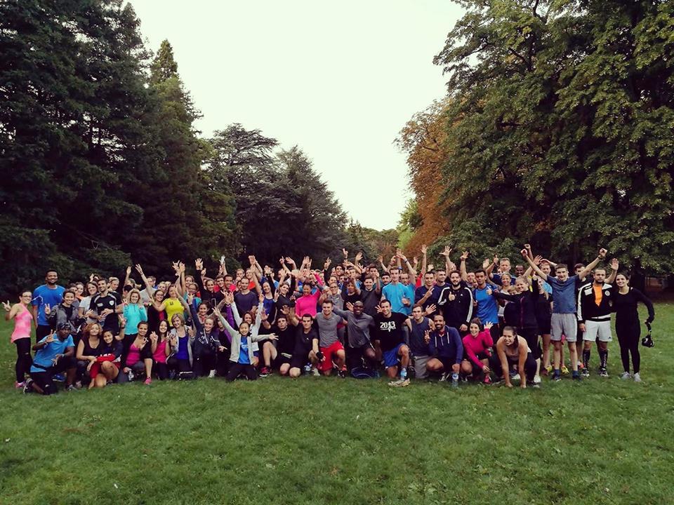courir en groupe avec Courir à Lyon