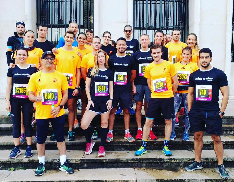 Photo avant course Courir à Lyon au Run in Lyon 2017
