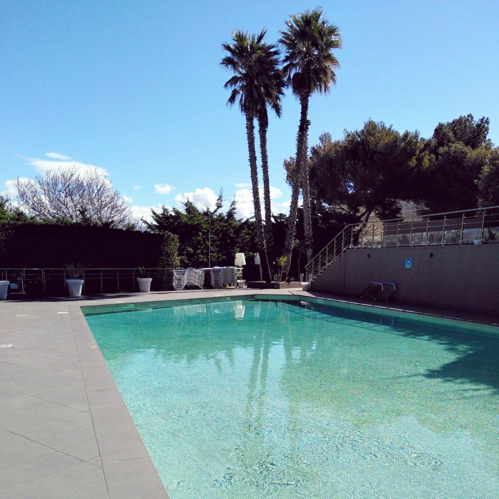 Marseille : piscine Novotel Vieux Port