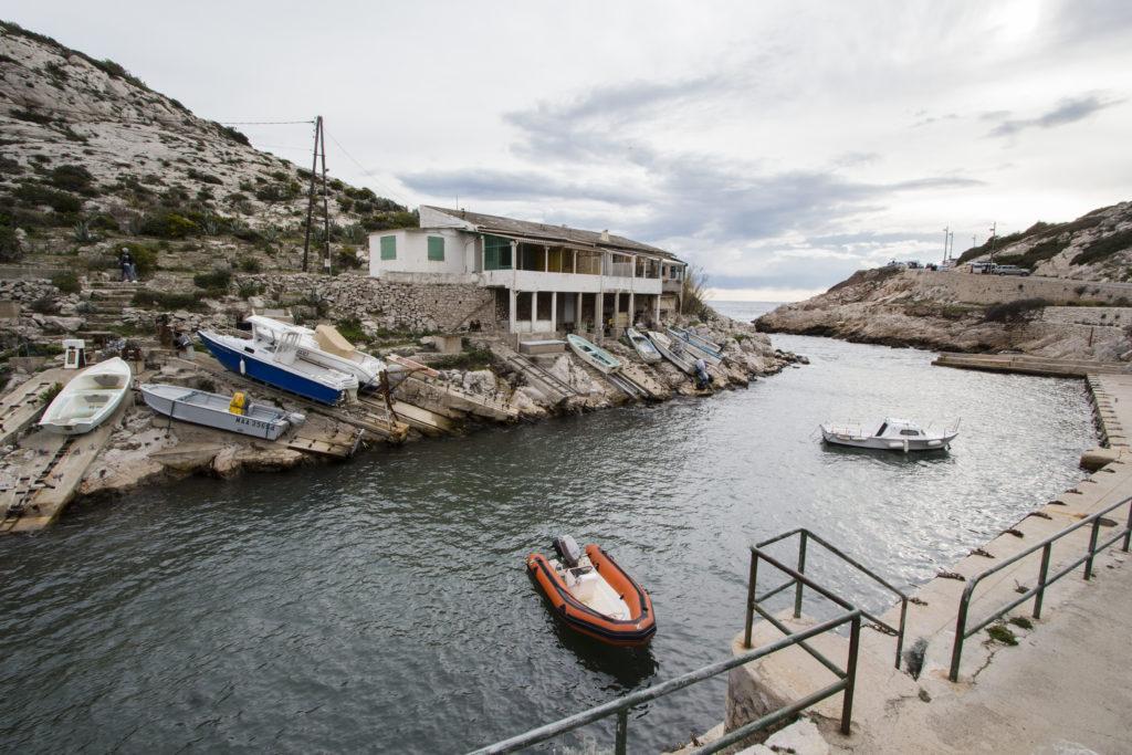 Marseille : calanque de callelongue