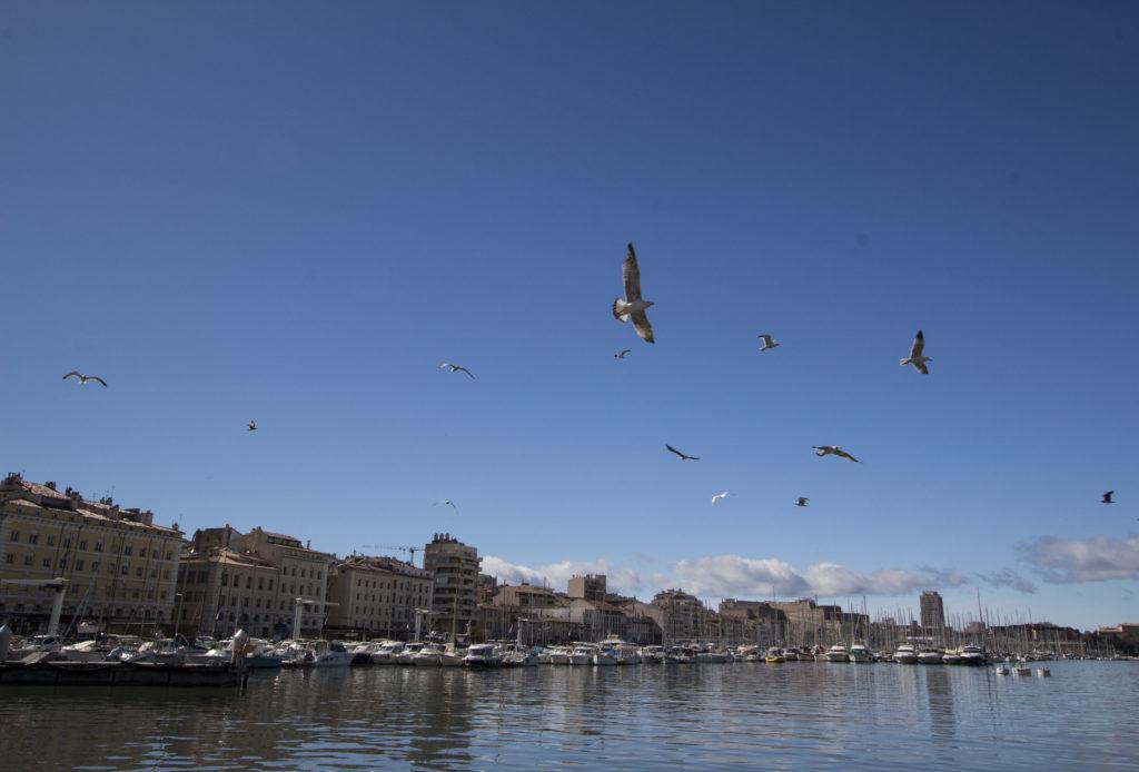 Marseille : vieux Port