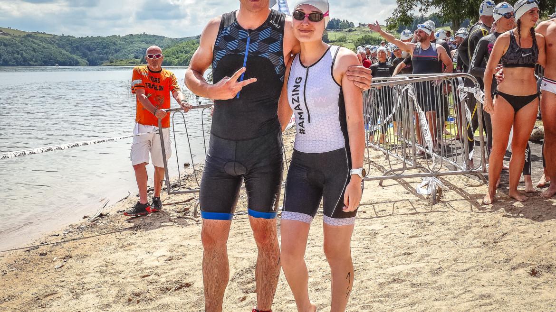 Triathlon S Roanne-Villerest : compte-rendu de mon premier triathlon