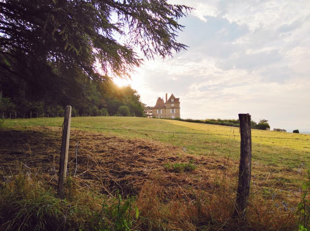 un week-end à la campagne entre Drôme et Isère : chateau
