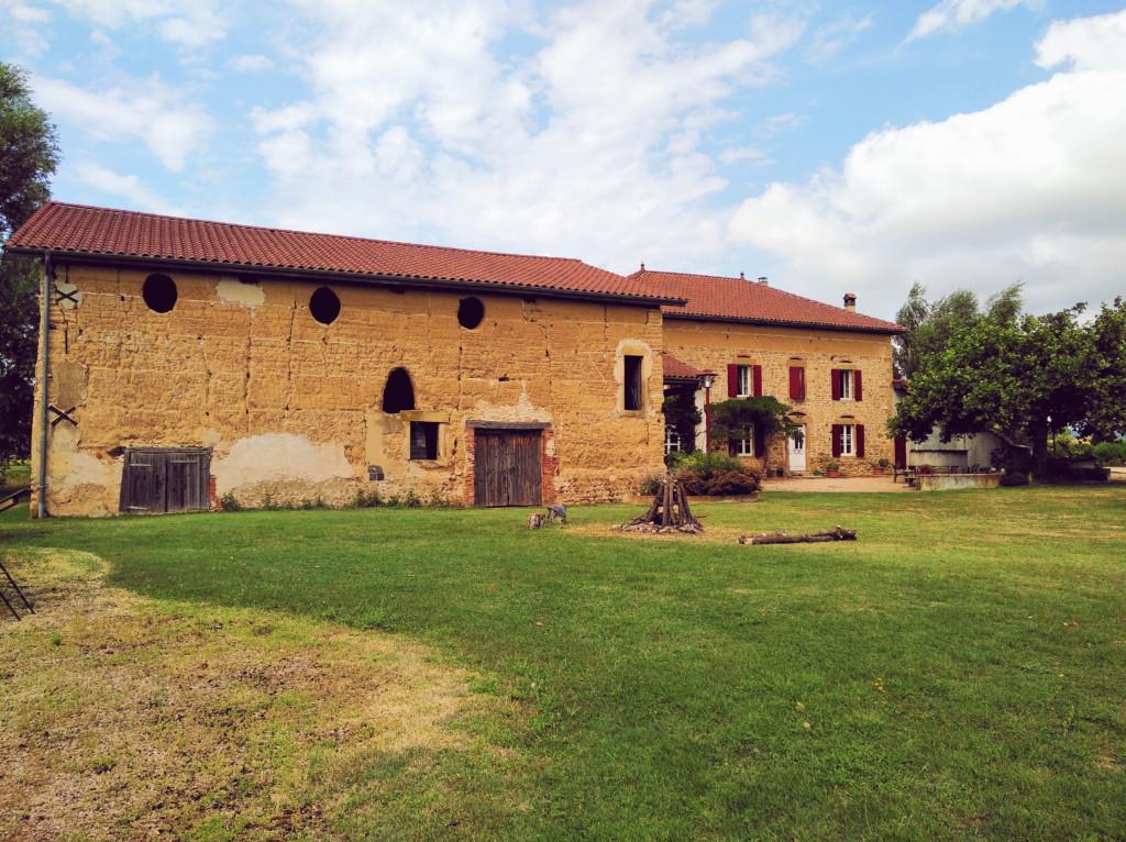 un week-end à la campagne entre Drôme et Isère : ferme