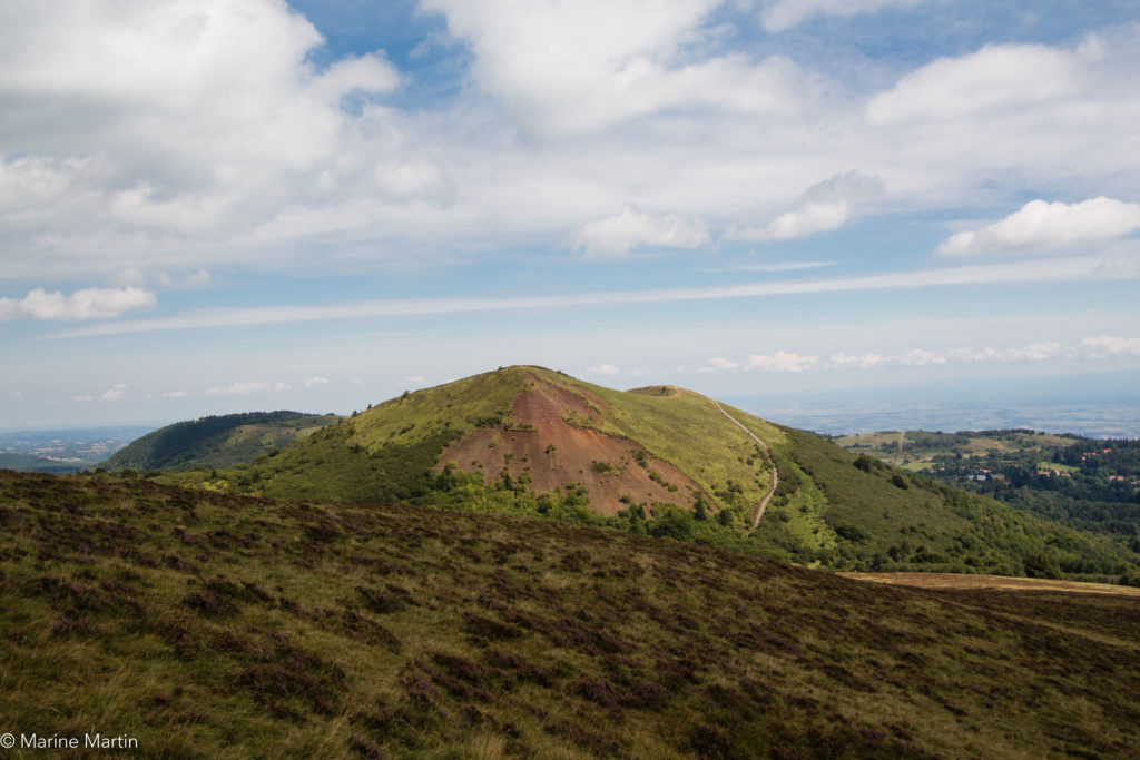 Volcans - Vue du Puy du Pariou