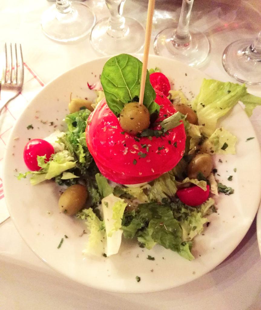 10 meilleures adresses à Rome - tomates mozza