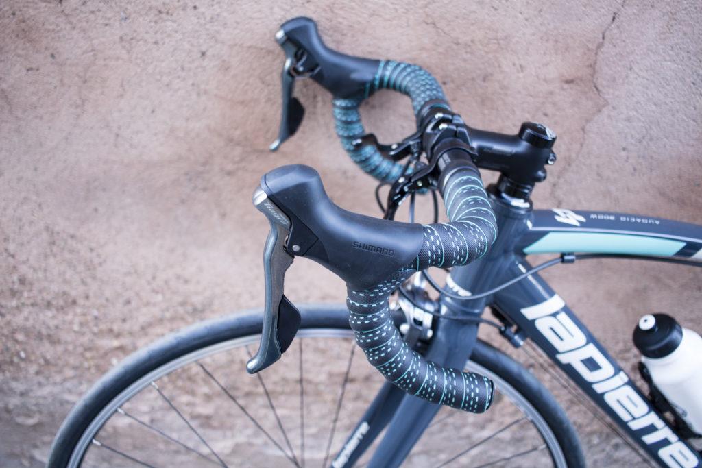 vélo de route Lapierre : guidon
