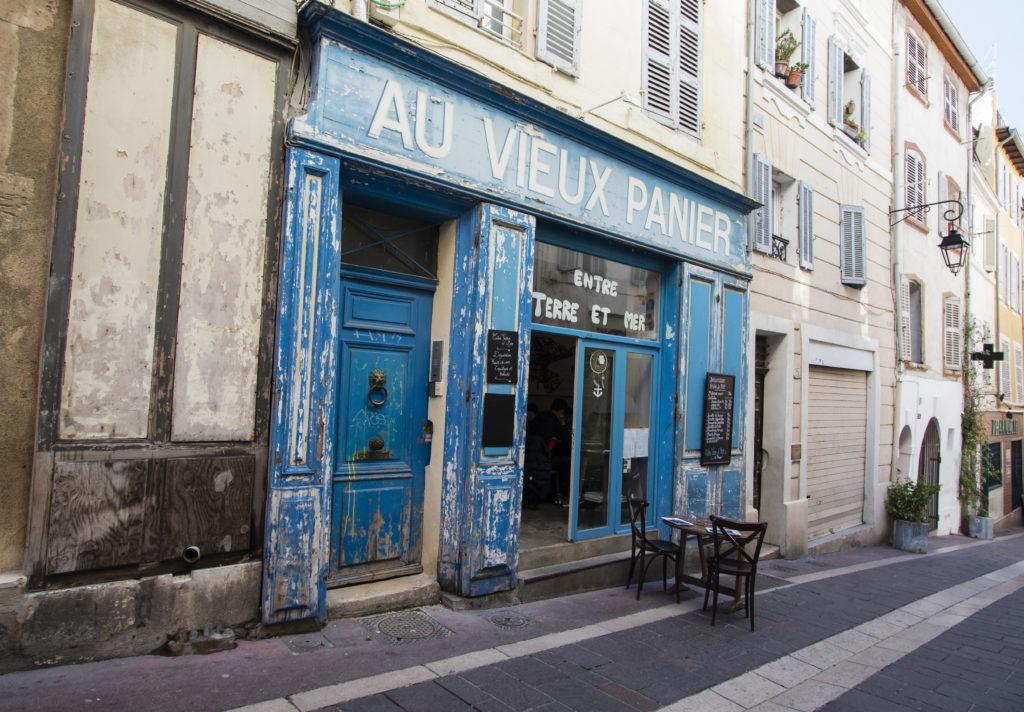 Marseille : façade au Vieux Panier