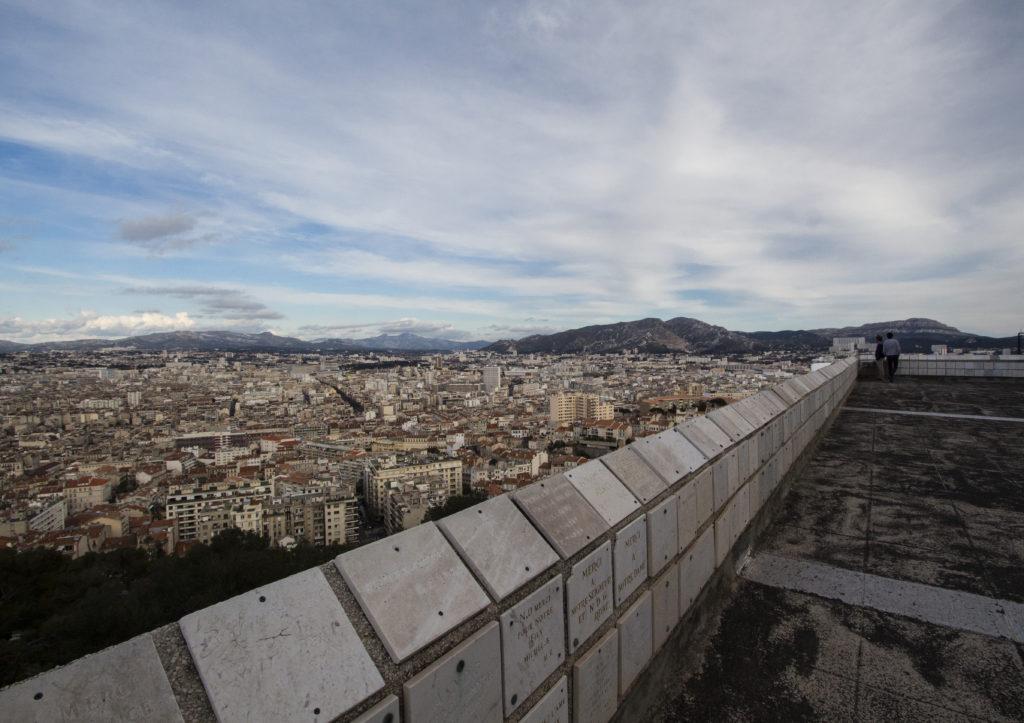 Marseille : vue sur Marseille