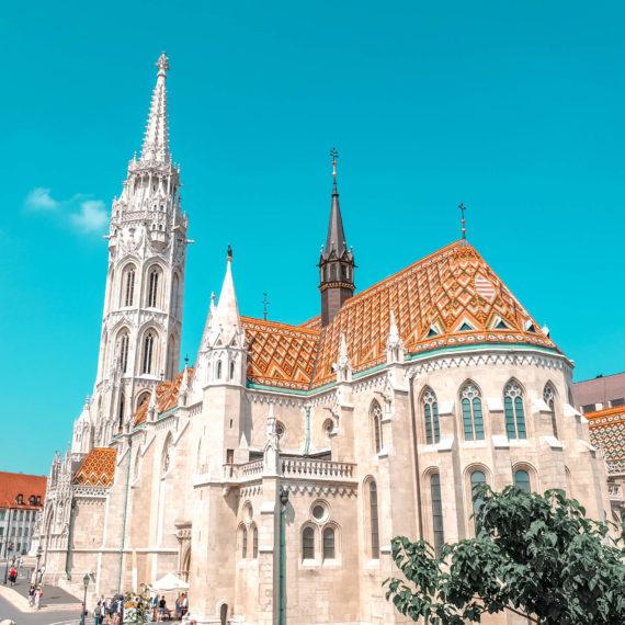Visiter Budapest en 4 jours - Eglise Matthias