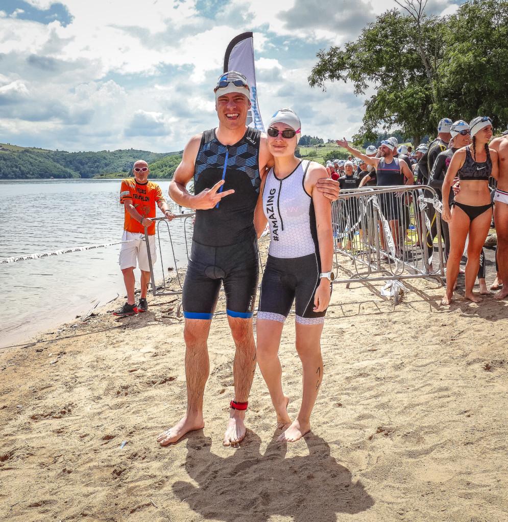 triathlon : départ