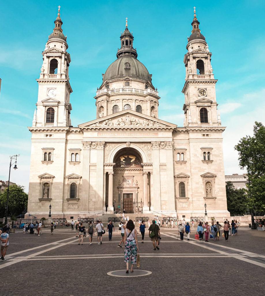 Visiter Budapest en 4 jours - Basilique Saint-Etienne