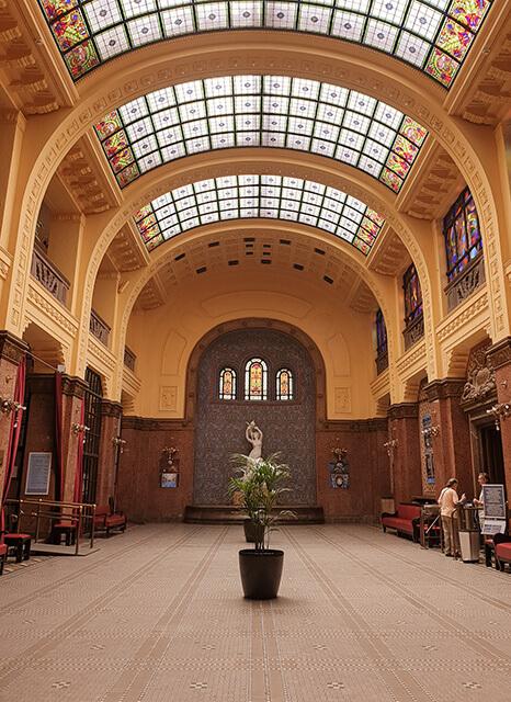 Visiter Budapest en 4 jours - Bains Gellert