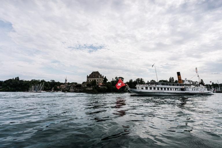 Yvoire, croisière en bateau solaire