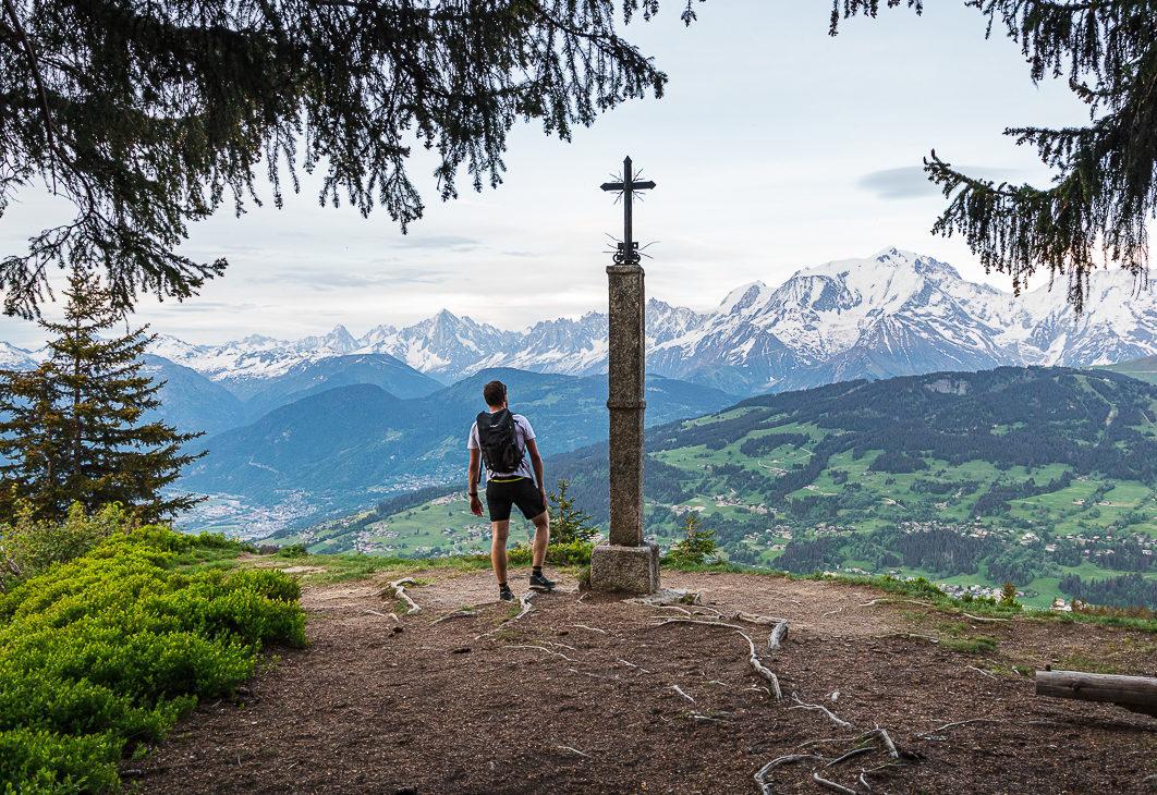 Combloux : randonnée à la Croix des Salles