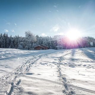 Une belle balade dans ce décor de rêve 😍  . . #moutains #montagne #nature #neige #snow #snowfall #hiver #winter #landscapephotography #snowday #moutainlife #moutainview